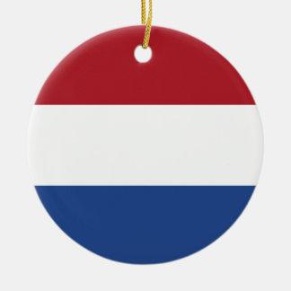 Ornamento De Cerâmica Baixo custo! Bandeira holandesa