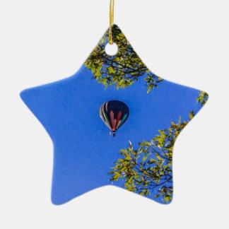 Ornamento De Cerâmica Balão de ar quente 2
