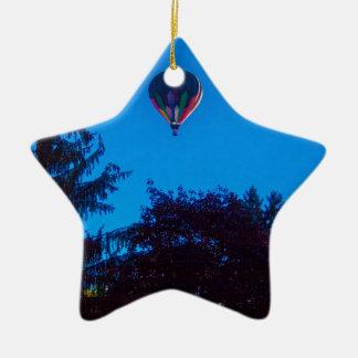 Ornamento De Cerâmica Balão de ar quente 3