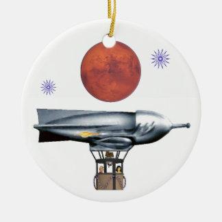 Ornamento De Cerâmica Balão de Rocket