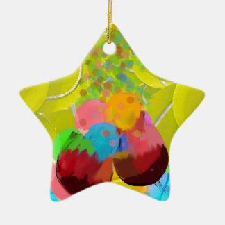 Ornamento De Cerâmica Balões dos vidros das bolas