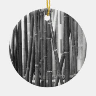 Ornamento De Cerâmica Bambu