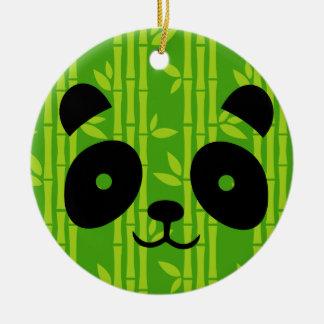 Ornamento De Cerâmica bambu da panda