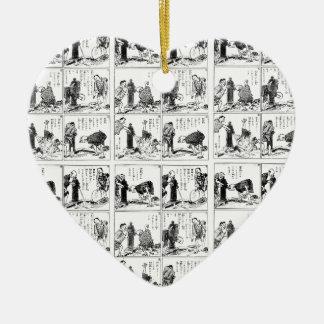 Ornamento De Cerâmica Banda desenhada japonesa
