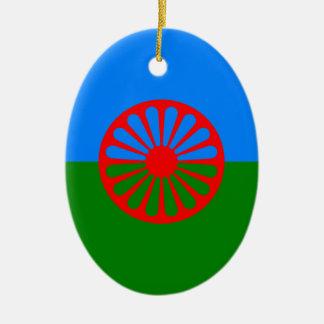 Ornamento De Cerâmica Bandeira aciganada
