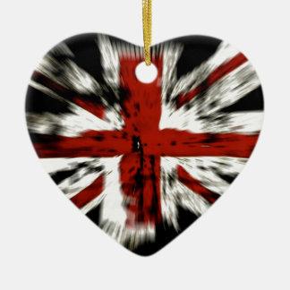 Ornamento De Cerâmica Bandeira britânica