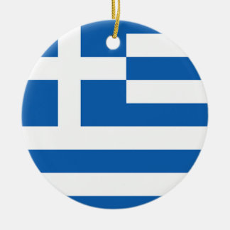 Ornamento De Cerâmica Bandeira da piscina, grega