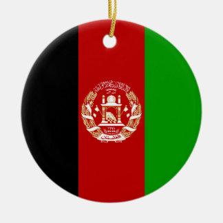 Ornamento De Cerâmica Bandeira de Afeganistão