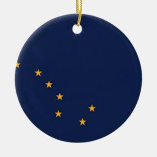 Ornamento De Cerâmica Bandeira de Alaska