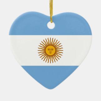 Ornamento De Cerâmica Bandeira de Argentina