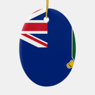 Ornamento De Cerâmica Bandeira de British Virgin Islands