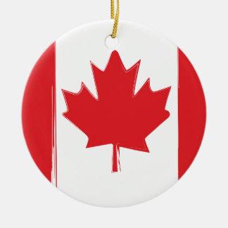 Ornamento De Cerâmica Bandeira de Canadá