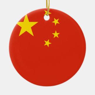 Ornamento De Cerâmica Bandeira de China