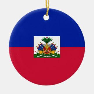 Ornamento De Cerâmica Bandeira de Haiti