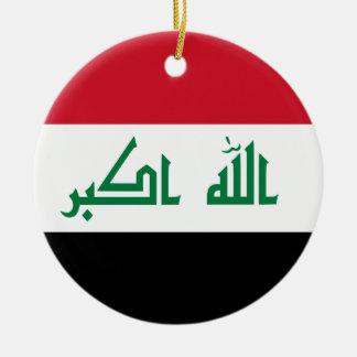 Ornamento De Cerâmica Bandeira de Iraque