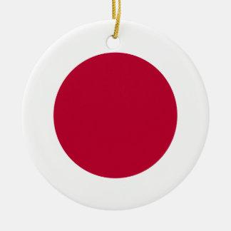 Ornamento De Cerâmica Bandeira de Japão
