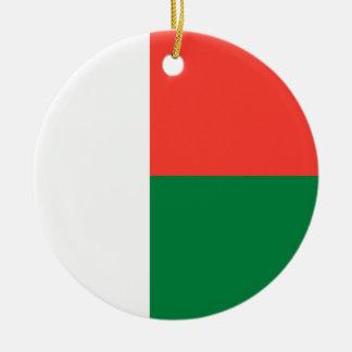 Ornamento De Cerâmica Bandeira de Madagascar