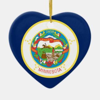 Ornamento De Cerâmica Bandeira de Minnesota