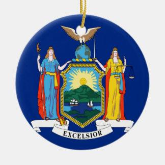 Ornamento De Cerâmica Bandeira de New York