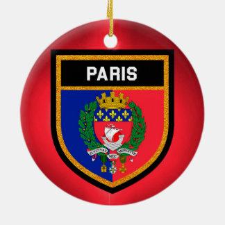 Ornamento De Cerâmica Bandeira de Paris