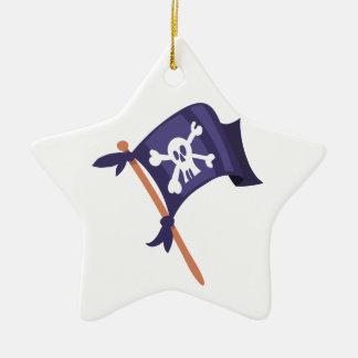 Ornamento De Cerâmica Bandeira de pirata de Piratenfahne
