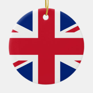 Ornamento De Cerâmica Bandeira de Reino Unido