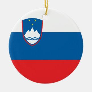 Ornamento De Cerâmica Bandeira de Slovenia