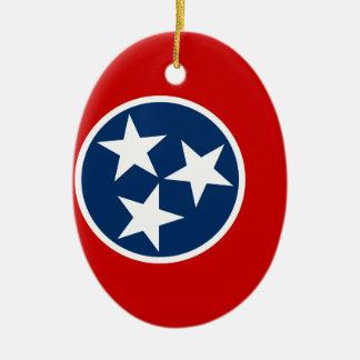 Ornamento De Cerâmica Bandeira de Tennessee