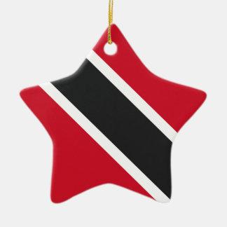 Ornamento De Cerâmica Bandeira de Trinidadtobago