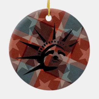 Ornamento De Cerâmica Bandeira dos Estados Unidos