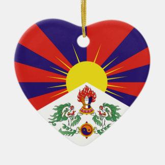 Ornamento De Cerâmica Bandeira livre de Tibet - ་ do བཙན do ་ do རང do ་