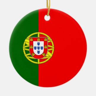 Ornamento De Cerâmica Bandeira nacional de Portugal