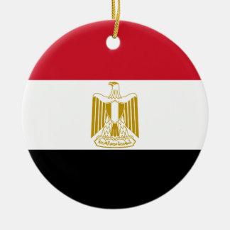 Ornamento De Cerâmica Bandeira nacional do mundo de Egipto