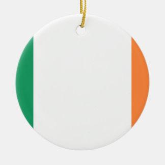 Ornamento De Cerâmica Bandeira nacional do mundo de Ireland