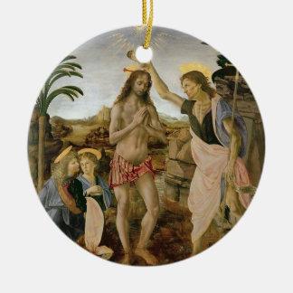 Ornamento De Cerâmica Baptismo do cristo