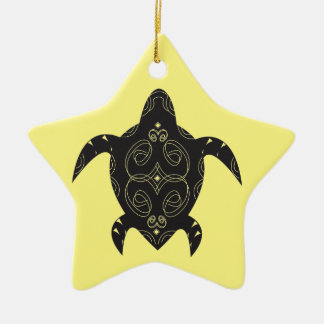 Ornamento De Cerâmica Barriga da tartaruga de mar