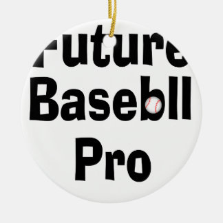 Ornamento De Cerâmica Basebol futuro pro