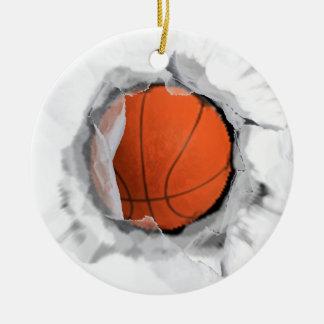Ornamento De Cerâmica Basquetebol Collectible