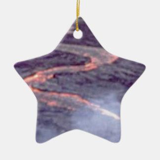 Ornamento De Cerâmica batedeira do rio da lava