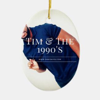 Ornamento De Cerâmica Baterista de Tim