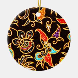 Ornamento De Cerâmica batik yono 03