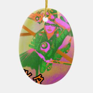 Ornamento De Cerâmica Bayonetta imprimiu