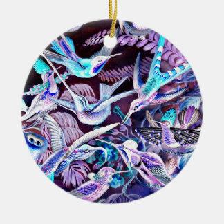 Ornamento De Cerâmica Belas artes do colibri