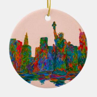 Ornamento De Cerâmica Beleza de Manhattan