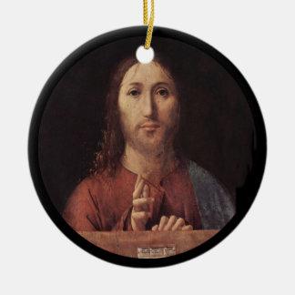 Ornamento De Cerâmica Bênção do cristo