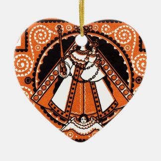 Ornamento De Cerâmica Benevolência 1921 da cédula de Kevelaer Notgeld