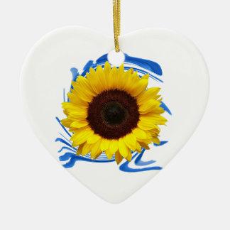 Ornamento De Cerâmica benevolência das Sun-luzes