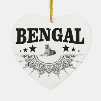 Ornamento De Cerâmica Bengal de assento