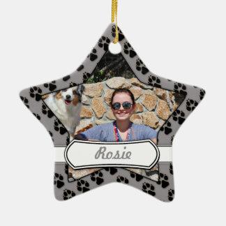 Ornamento De Cerâmica Bennett - mini australiano - Rosie - praia de