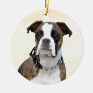 Ornamento De Cerâmica Benson o cão do pugilista